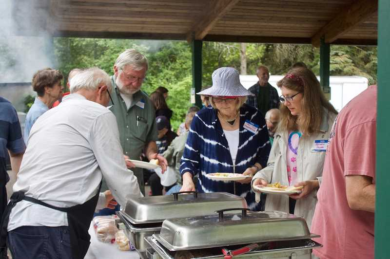 PMG PHOTO: CHRISTOPHER KEIZUR - The city of Gresham hosted a 2019 Volunteer Appreciation Picnic in Main City Park to thank the many people who give back to the community every year.
