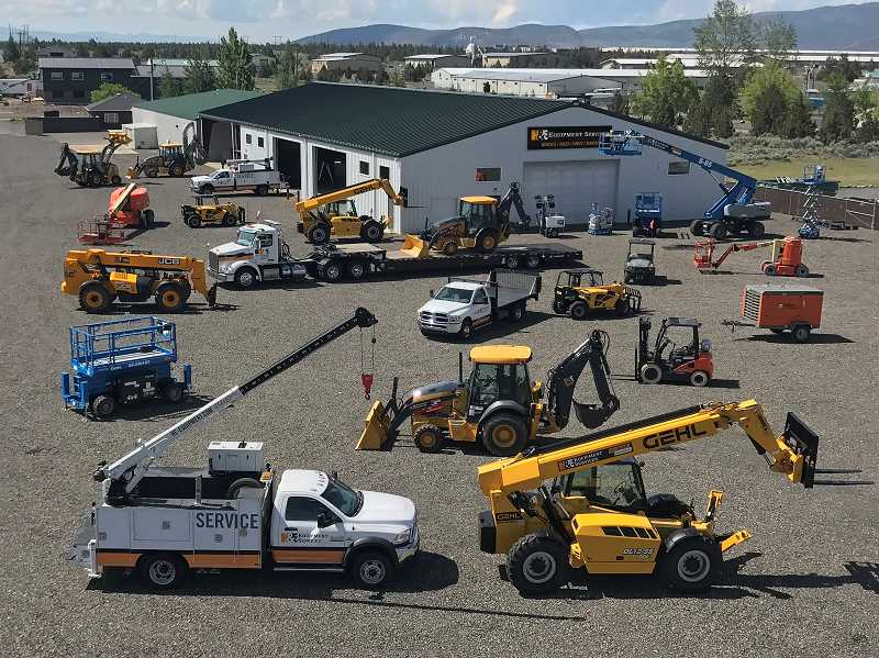 PHOTO SUBMITTED BY H&E EQUIPMENT SERVICES - H&E Equipment Services opened a 23,500-square-foot Prineville facility that sits on 5.5 acres in Baldwin Industrial Park.