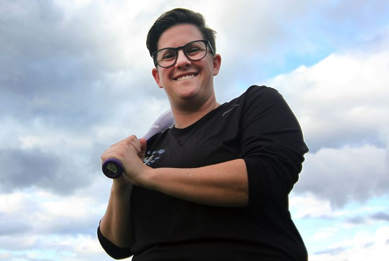 PMG PHOTO: MILES VANCE - Katie Boos was hired last week as Lakeridge's new varsity softball coach. Most recently, she served as hitting and outfield coach at Concordia University.
