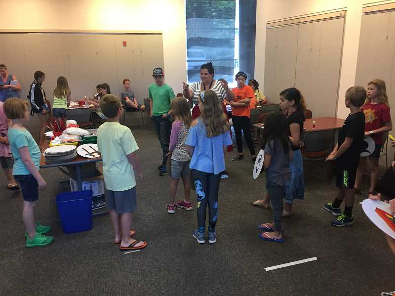 COURTESY PHOTO - Though Camp Half Blood is new this year, the library hosted a smaller scale, classroom version a couple years ago.