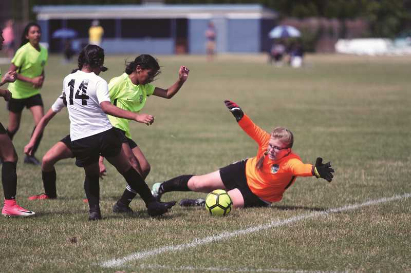 PMG PHOTO: PHIL HAWKINS - Dozens of girls and boys teams from across the state competed in a variety of brackets, each one concluding with a championship game on Sunday.