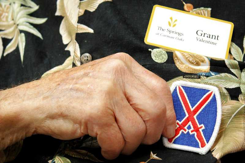 PMG PHOTO: AVA EUCKER - Valentine served in Italy during WWII and is proud to continue living in a country he served.