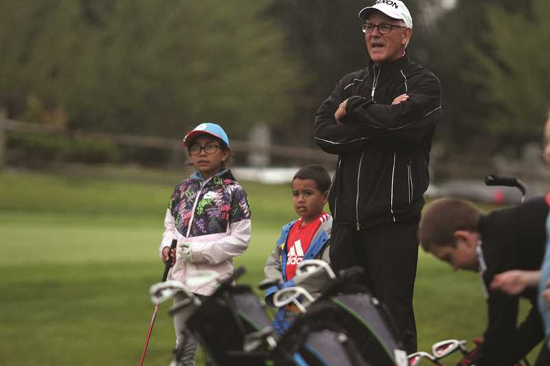 PMG PHOTO: PHIL HAWKINS - Keating said the program has more than doubled in size from last year, thanks in part to outreach to schools during the winter and spring, in addition to the PGA Reach scholarships.