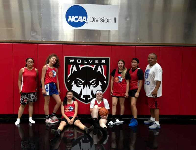 SUBMITTED PHOTO - The Madras girls freshman basketball team participated in the WOU basketball camp June 25-27.