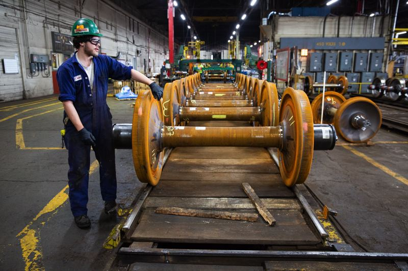 PMG FILE PHOTO - Oregon's manufacturing industries added jobs in June, part of the state's record-setting employment during the past three years.