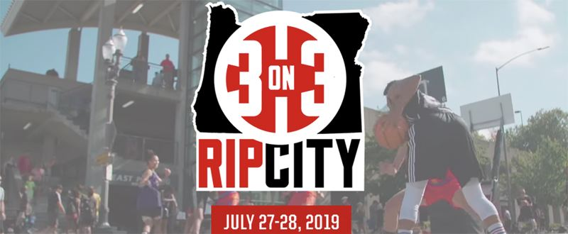 COURTESY PHOTO - Sign-ups for the sixth annual Rip City 3-on-3 tournament are open to players - both male and female - ages 5 and older through Saturday, July 20.