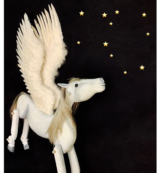 COURTESY PHOTO - Pegasus Puppet Theatre aims to teach children in the Summer Reading Program all about the stories behind the universe's constellations.