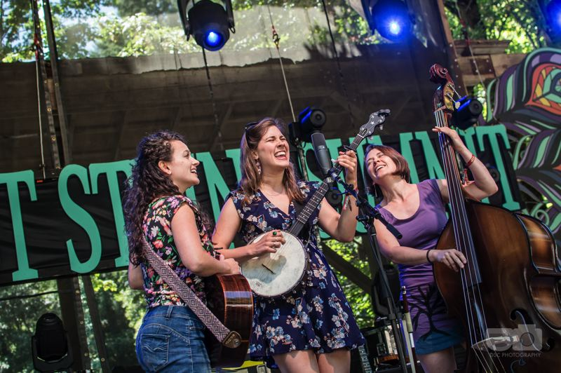 COURTESY PHOTO: NORTHWEST STRING SUMMIT  - Portland-based Five Letter Word, the winner of the 2018 Northwest String Summit Band Competition returns for the festival's 18th year this weekend at Horning's Hideout, 20 miles west of Portland near North Plains.
