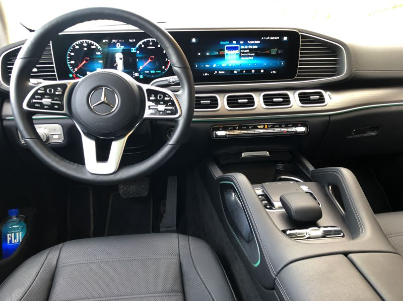PMG PHOTO: JEFF ZURSCHMEIDE - The 2020 Mercedes-Benz GLS is available with all advanced technologies, inlcuding the exclusive User eXperience (MBUX) package, which supports gesture control and voice commands.
