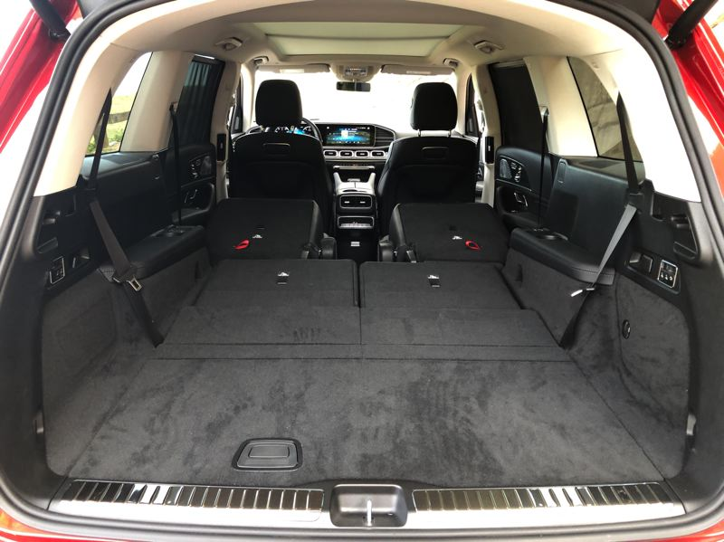 PMG PHOTO: JEFF ZURSCHMEIDE - Cargo space is not a problem with the new Mercedes-Benz GLS.