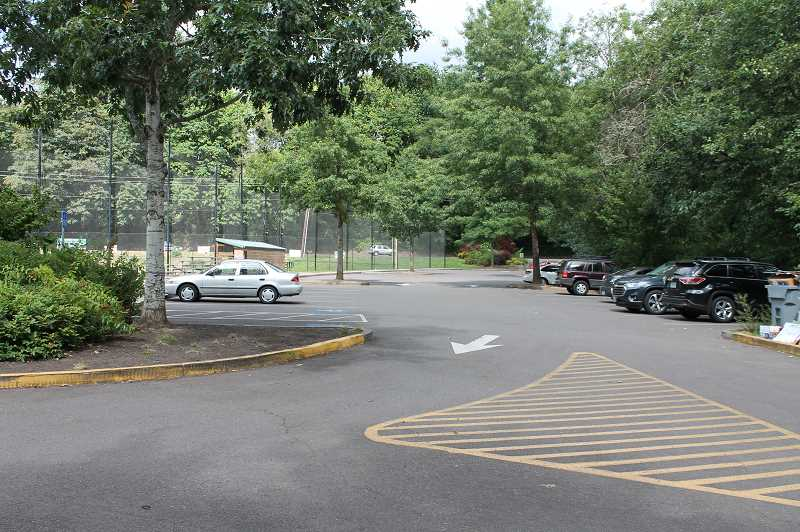 PMG PHOTO: HOLLY BARTHOLOMEW - Though Fields Bridge Park now has two parking lots, they often aren't enough to accomodate all the cars at baseball games.