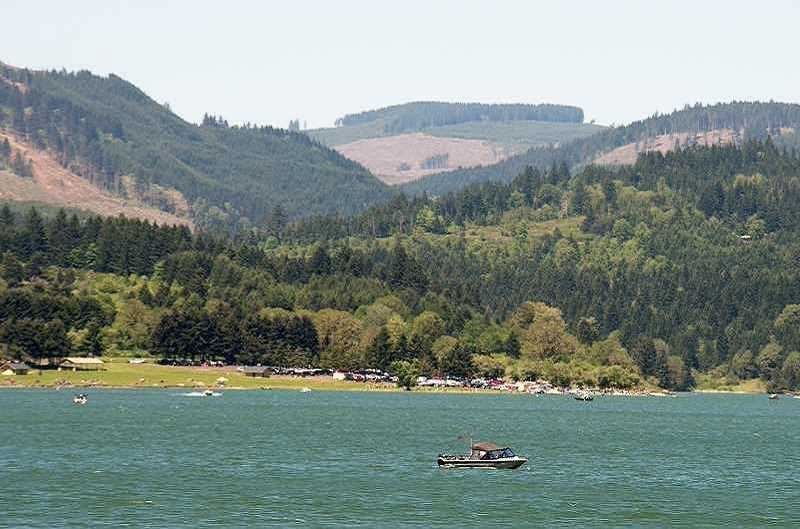PMG FILE PHOTO - Henry Hagg Lake will play host to races and trail runs this weekend.
