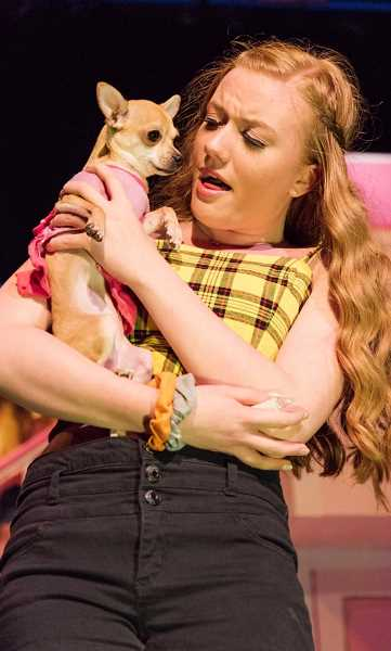 COURTESY PHOTO - Mikaela Ochocki has been involved with WHS's theater program all of high school. She performed as Margot in 'Legally Blonde' last fall.