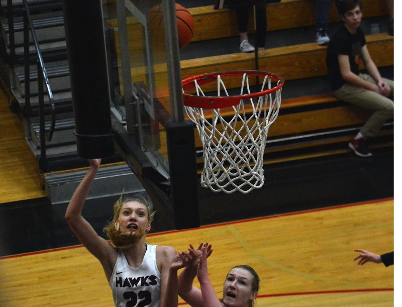 TIMES FILE PHOTO - Southridge rising senior Cameron Brink won her second straight 6A/5A Johnny Carpenter Award after helping the Skyhawks reach their third straight state title game.