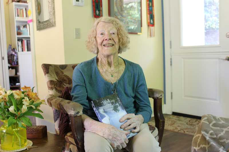 PMG PHOTO: COREY BUCHANAN - Lake Oswego resident Chloe Scott published her nonfiction book The Walking Trees 73 years after protecting wildlife in the everglades.