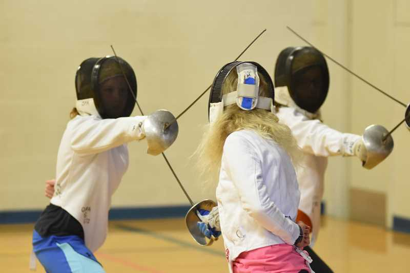 COURTESY PHOTO  - Lake Oswego Parks and Rec offers camps in fencing for ages 7 to 12 this summer. Sign up soon.
