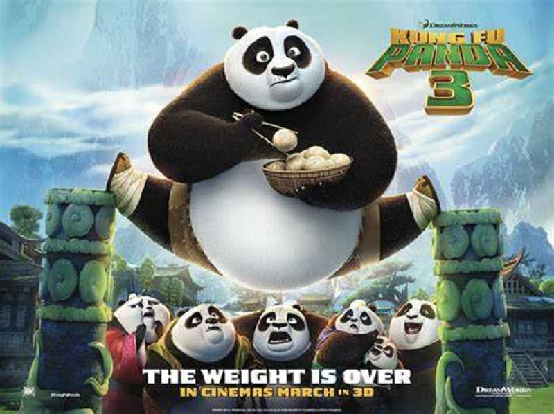 COURTESY PHOTOS  - The Movies in the Park film for tonight is Kung Fu Panda 3 at Millennium Plaza Park.