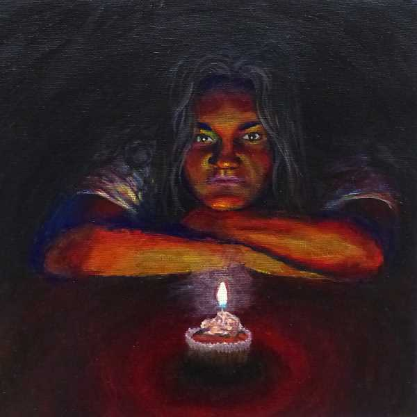 COURTESY PHOTO  - Alexis Leon-Guerrero enjoys working with light in her paintings.