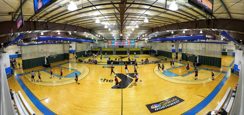COURTESY: YMCA OF COLUMBIA-WILLAMETTE - The YMCA's $5 million purchase of the Beaverton property on Harvest Court will include the 50,000-square-foot Hoop building and a smaller warehouse that will be renovated into a child development center.