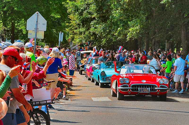 DAVID F. ASHTON - Antique and specialty vehicles added extra interest to the 25th annual Eastmoreland Independence Day Parade.