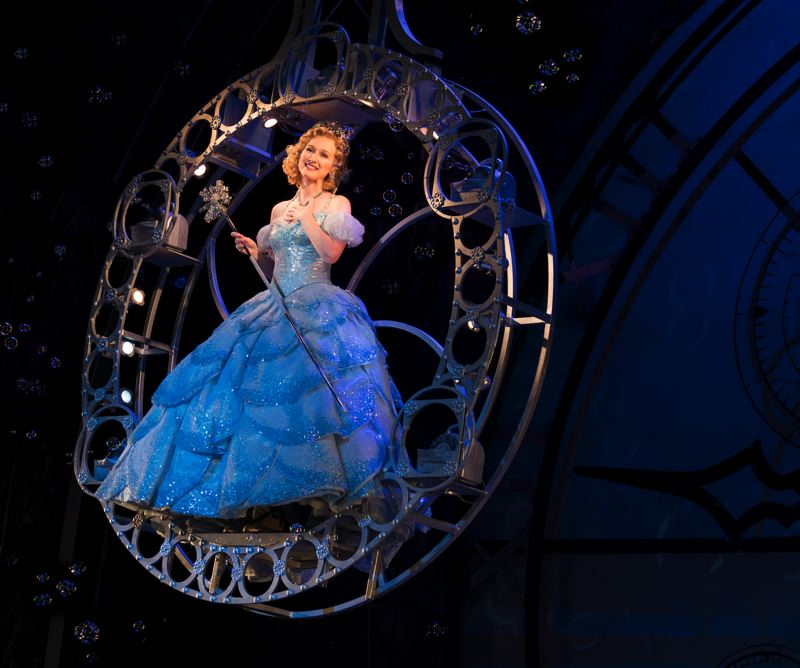 COURTESY PHOTO: JOAN MARCUS - Erin Mackey, starring as Glinda in 'Wicked' at Keller Auditorium, is married to a man who once played Boq in the play. Her husband, Stanton Nash, has family in the Portland area.