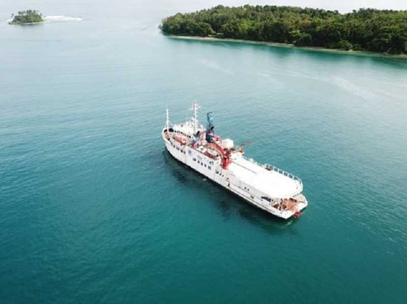COURTESY PHOTO: BAILEY MCKAY - The medical ship McKay lived on while on a mission in Papua New Guinea.