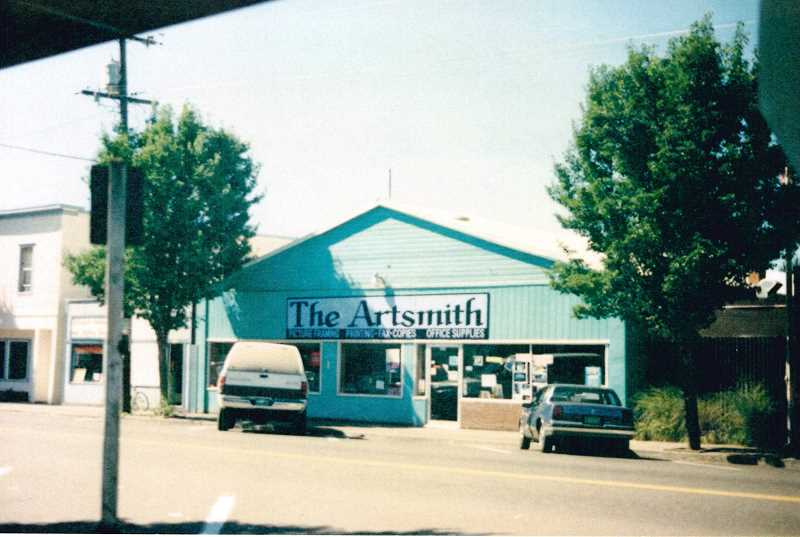 COURTESY PHOTO - Prior to moving to its location on Third Avenue, The Artsmith was on Broadway Street in Downtown Estacada.