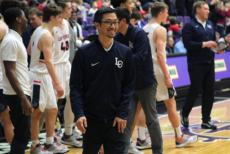 PMG PHOTO: MILES VANCE - Lake Oswego boys basketball coach Marshall Cho will lead the next installment of the Lake Oswego Basketball Camp, set for Aug. 5-9 at Lake Oswego High School.