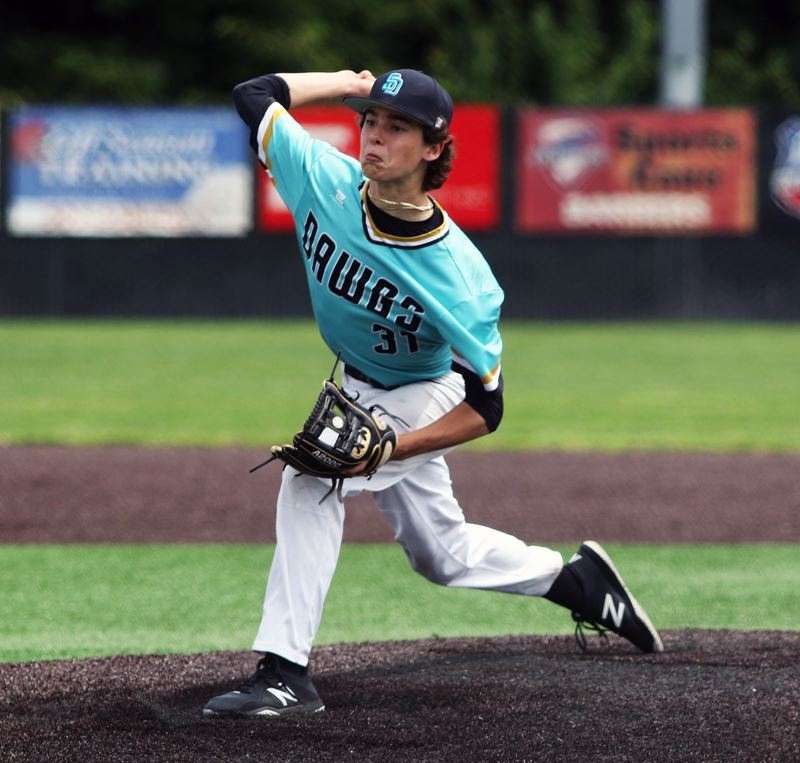 PMG PHOTO: DAN BROOD - The Tualatin Dawgs will host the OIBA National season-ending tournament, which will be held Thursday through Saturday on the varsity baseball field at Tualatin High School.