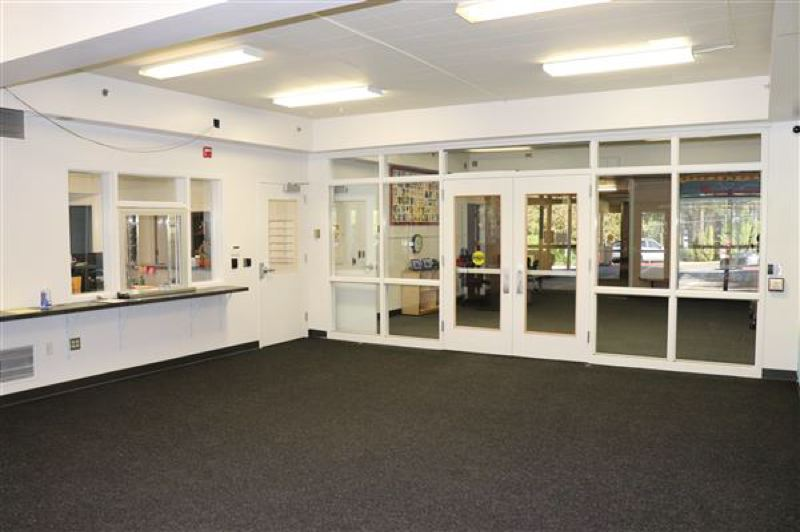 COURTESY PHOTO: LAKE OSWEGO SCHOOL DISTRICT - A recently-installed security vestibule at Palisades Elementary.