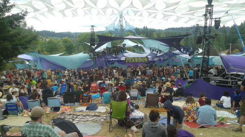 PMG PHOTO: SHANNON O. WELLS - Pickathon will draw musicians and artists from around the world to Pendarvis Farm in Happy Valley, Aug. 1-4.