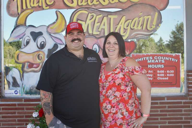PMG PHOTO: CHRISTOPHER KEIZUR - Randy and Wendy Feigner have exciting plans for Whites Country Meats as it celebrates 35 years of serving the community.