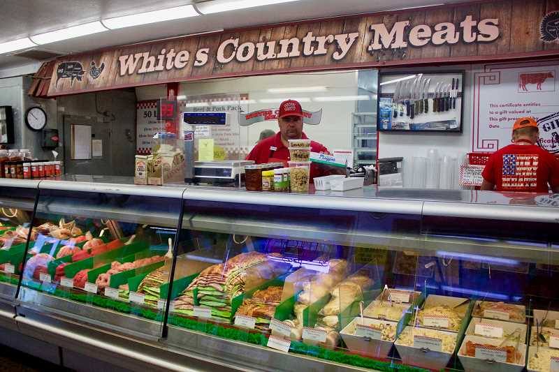 PMG PHOTO: CHRISTOPHER KEIZUR - Whites Country Meats will celebrate its 35th anniversary this November.