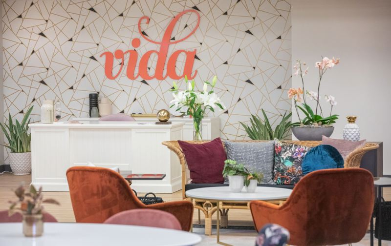 PMG PHOTO: JONATHAN HOUSE - Vida, a new co-work space in Northeast Portland, is located on the second floor of the Southeast 19th Avenue building that at one time served as the of Jantzen Swimwear.