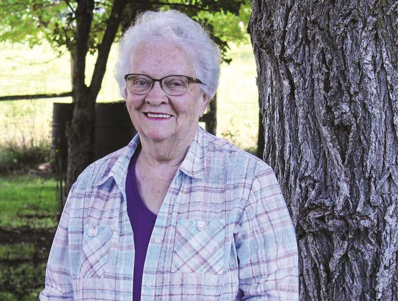 RAMONA MCCALLISTER - Lois Craddock is photographed at her Crook County home. She was recently surprised and honored to learn that she was named the 2019 Crook County Pioneer Queen.
