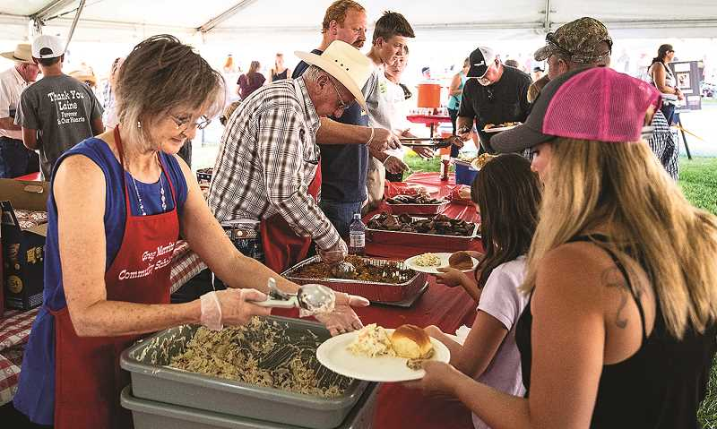 CENTRAL OREGONIAN - The Crook County Fair kicks off with the Greg Merritt Community Scholarship Barbecue.