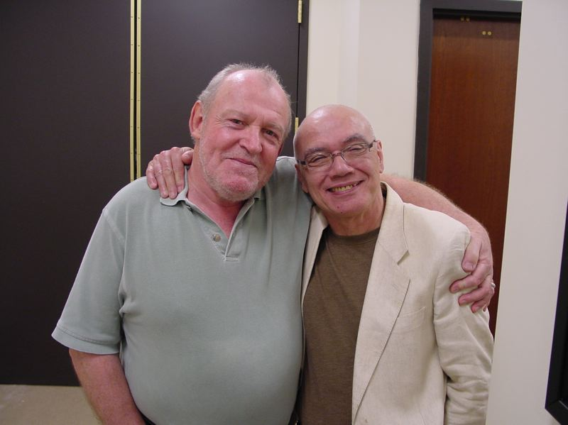 COURTESY: CAROLE TORRES ENGEL - Bobby Torres stayed in touch with Joe Cocker (eft) through the years, always talking about the star singer's kindness. Said Torres: 'To me he was like a god.'