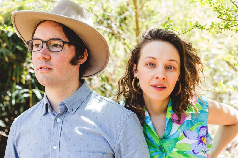 COURTESY PHOTO - Andrew Marlin (left, with Emily Franz) of Mandolin Orange says nights at Pickathon have 'led to some of my favorite jams.'