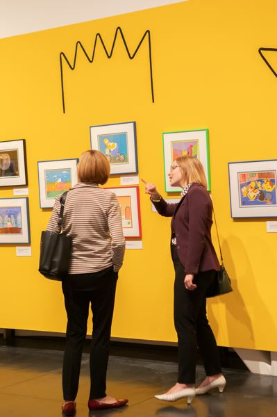 COURTESY PHOTO: TACOMA ART MUSEUM - There are 150 collectible pieces that include original cels and drawings in 'The Simpsons' exhibit.