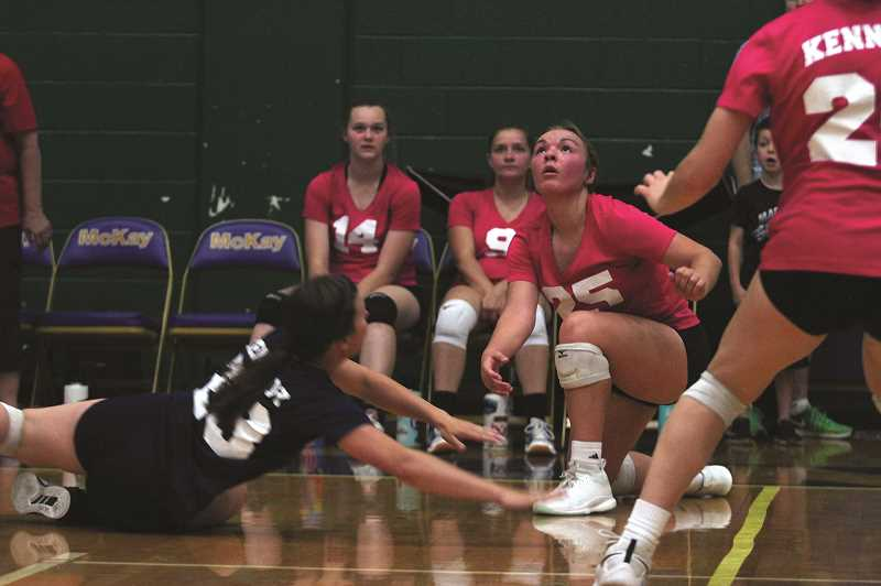 PMG PHOTO: PHIL HAWKINS - After going 28-3 and losing back-to-back games in the 2A state tournament to end the 2018 season, the Kennedy volleyball team is eager for redemption this year.