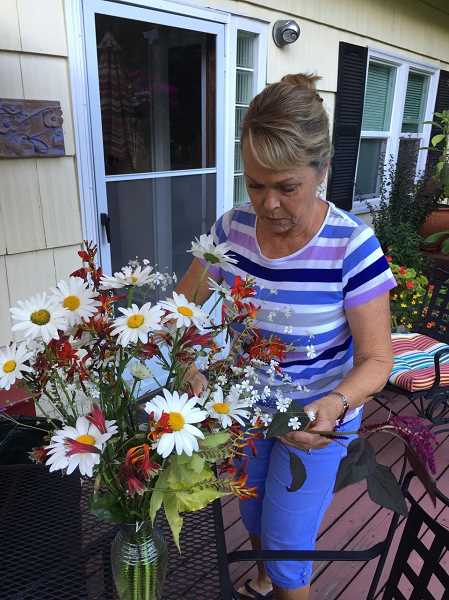 COURTESY PHOTO  - Members of the Friends of the Rogerson Clematis Collection will offer a class on basic floral design Aug. 3 from 10 a.m. to noon. Sign up now.