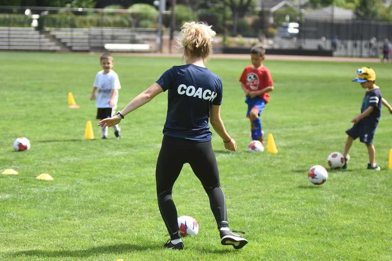 COURTESY PHOTO  - There are sports camps and other activity camps offered through Lake Oswego Parks and Rec. Sign up now.