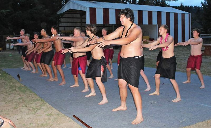 COURTESY PHOTO - Proceeds from the luau on Aug. 17 will help cover costs for the Sandy High School football team.