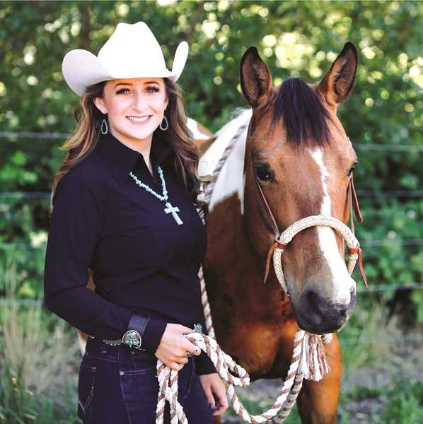 COURTESY PHOTO: SAMANTHA HENRICKS - Samantha Henricks is the only Miss Rodeo Oregon 2020 contestant. The pageant is hosted at teh Clackamas County Fair and Canby Rodeo on Aug. 13-17.