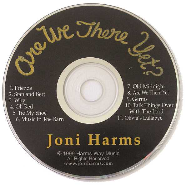 DESIREE BERGSTROM/MADRAS PIONEER - Joni Harms' album, 'Are we there yet?' was a big part of the author's childhood.