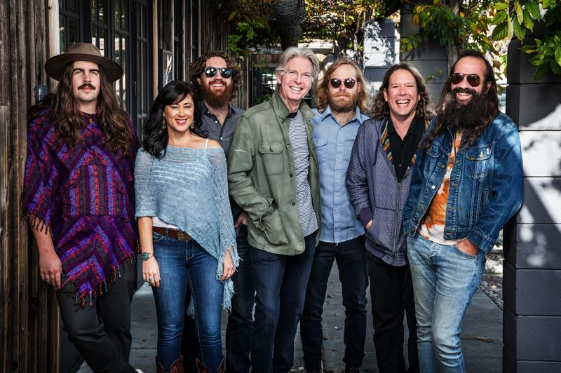 COURTESY PHOTO: TERRAPIN FAMILY BAND - Founding Grateful Dead bassist Phil Lesh (center) and the Terrapin Family Band will visit Pickathon this weekend for two performances at the 21st annual festival in Happy Valley.