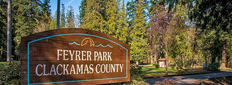 PMG FILE PHOTO - Feyrer Park in Molalla.