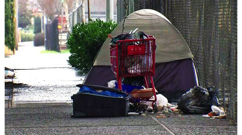 PMG FILE PHOTO - The visible homeless count is up, even though the total number is down.