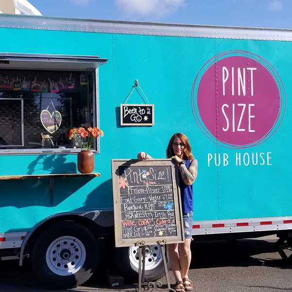 COURTESY PHOTO: CANBY FARMERS MARKET - Pint Size Pub House is one of the vendors that will be at the market this weekend.