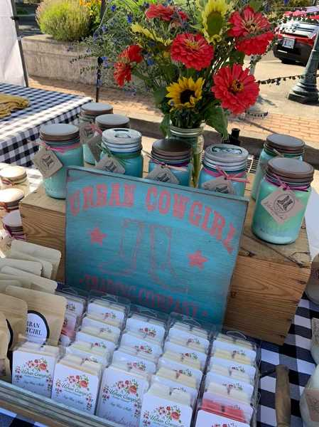 COURTESY PHOTO: CANBY FARMERS MARKET - Urban Cowgirl Trading Company will have a spot at the market's new location on North Holly Street this weekend.